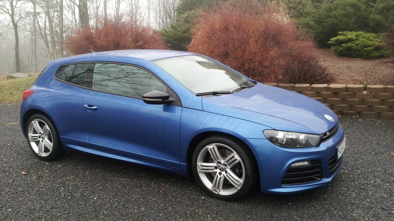 Volkswagen Scirocco R (European model), Catskill Mountains, NY, Dec 2013