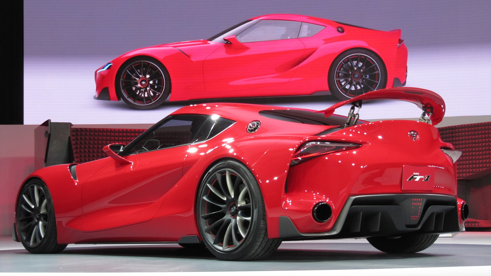 Toyota FT-1 Concept at 2014 Detroit Auto Show