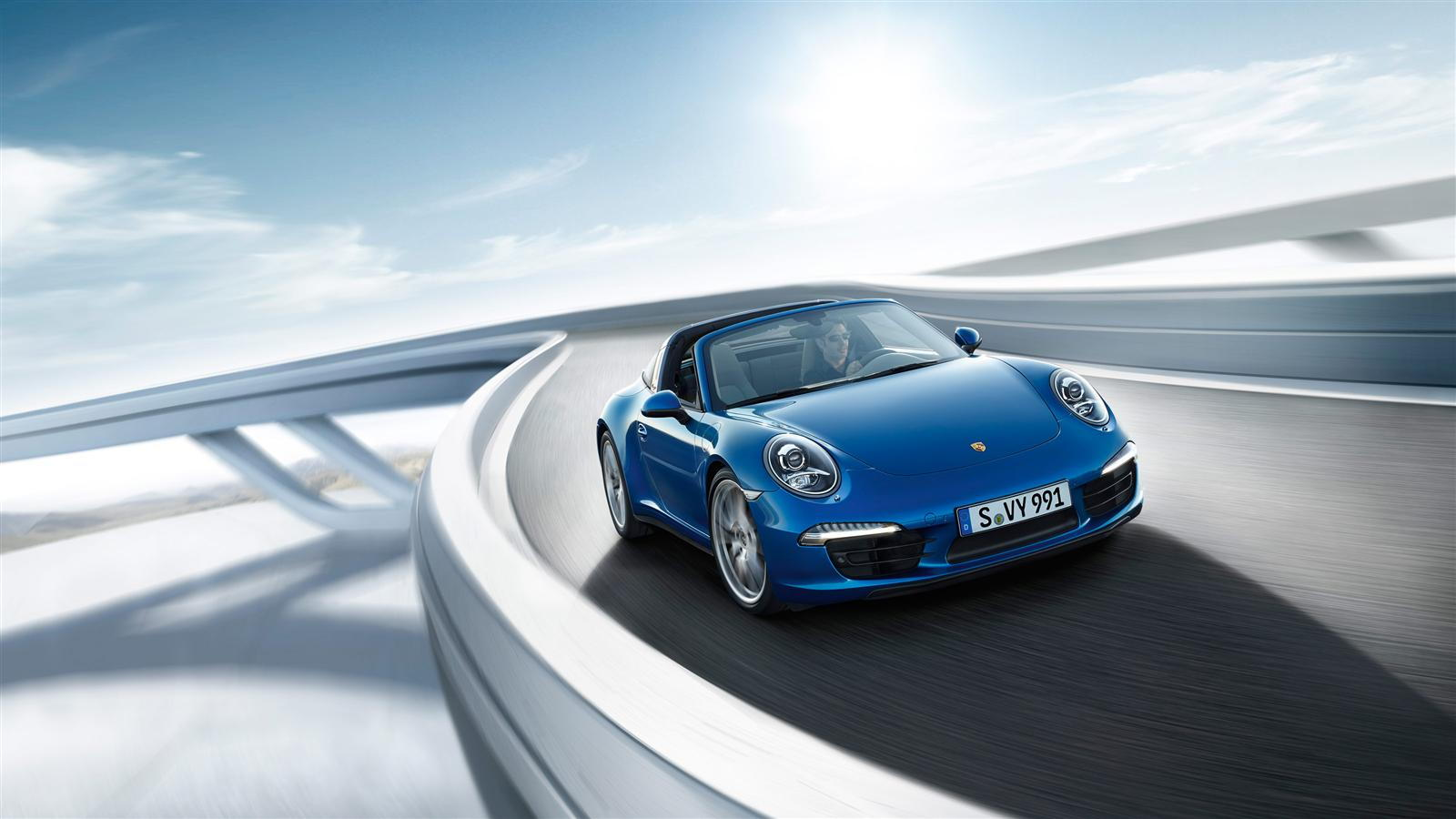 2014 Porsche 911 Targa 4
