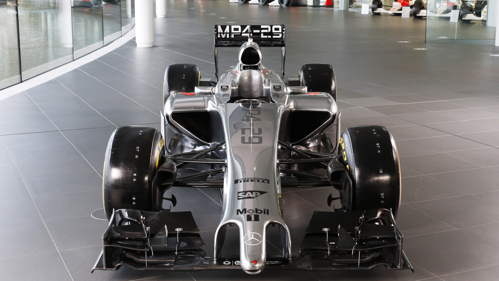 McLaren's MP4-29 2014 Formula One car