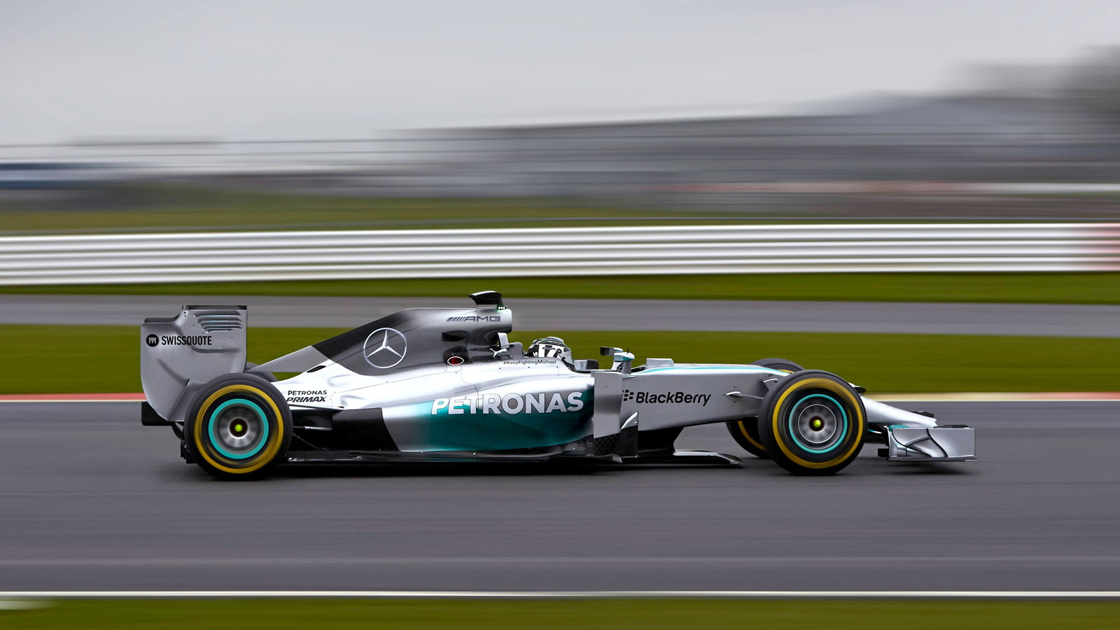 Mercedes AMG's W05 2014 Formula One car