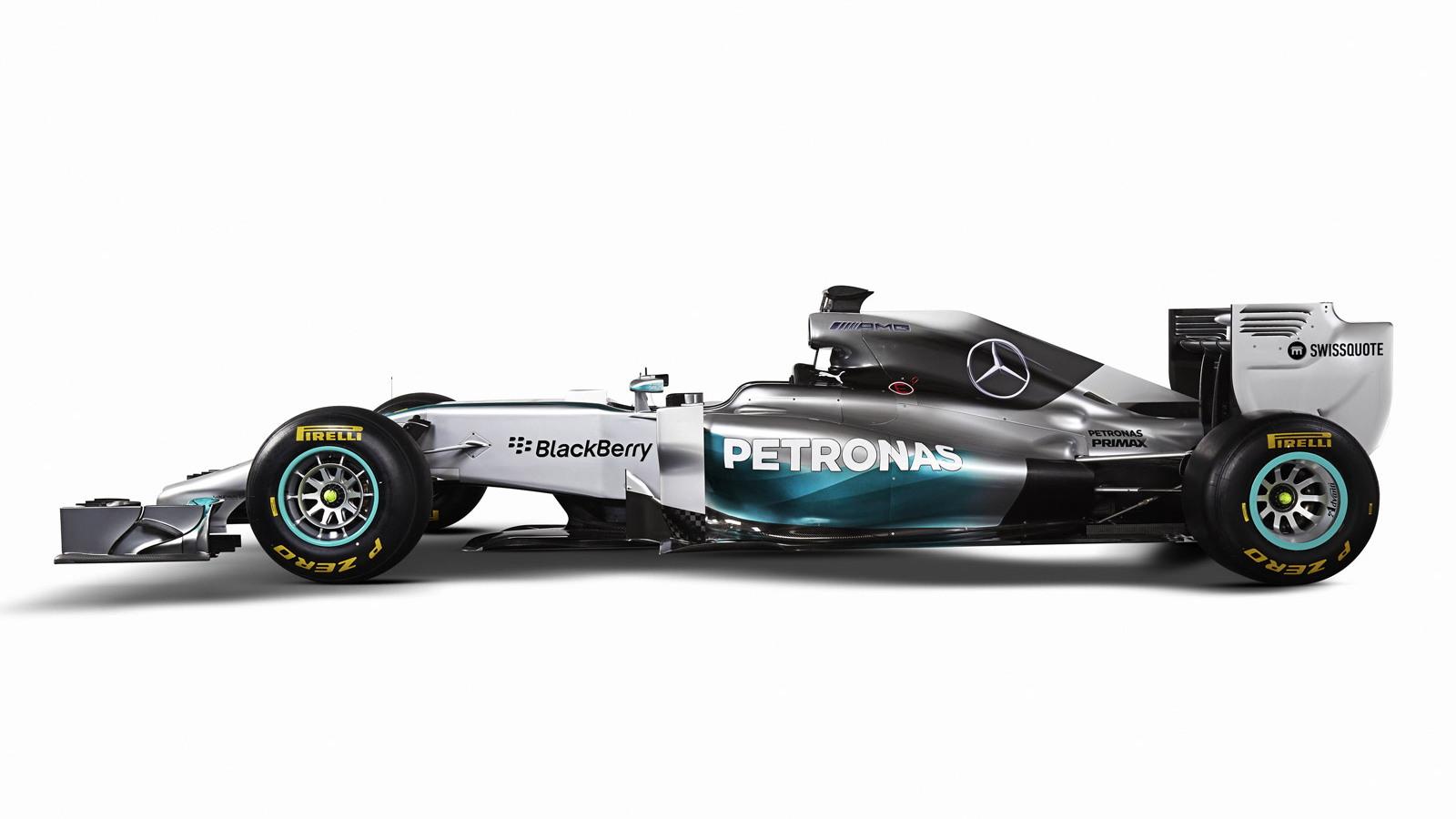 Mercedes AMG's W05 2014 Formula One car