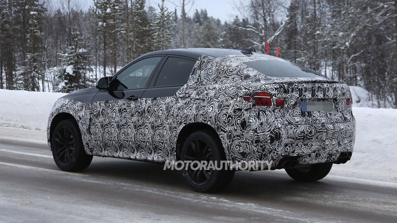 2015 BMW X6 M spy shots