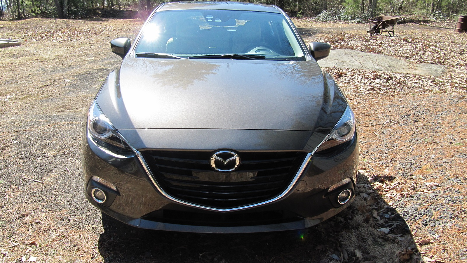 2014 Mazda 3, Catskill Mountains, NY, Apr 2013