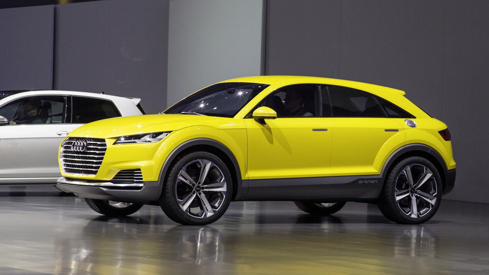 Audi TT Offroad concept, 2014 Beijing Auto Show