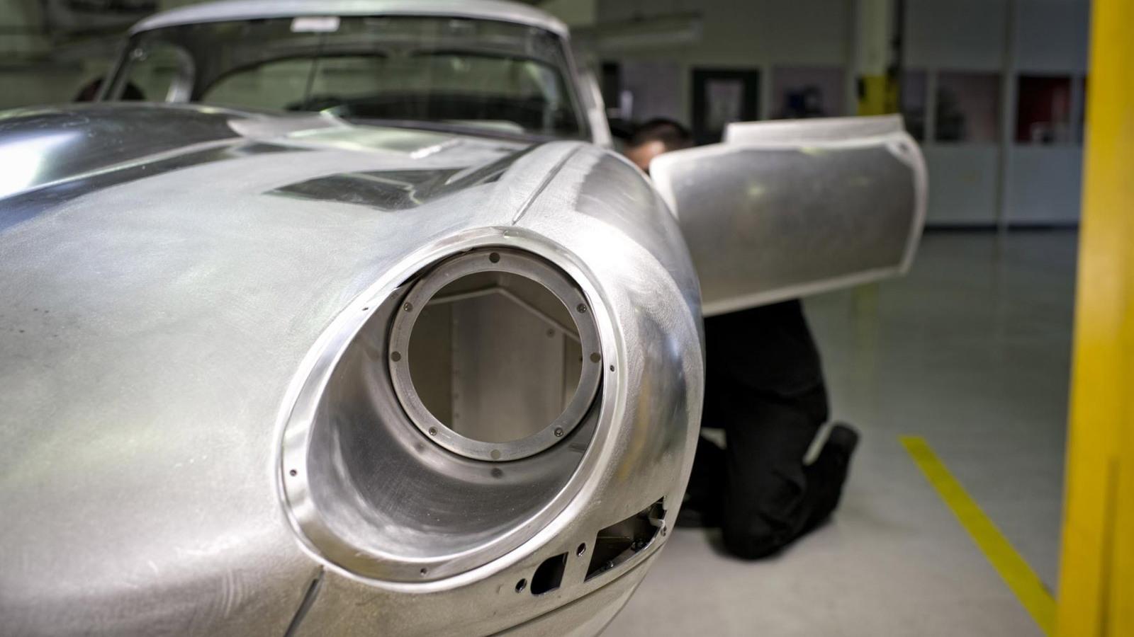1963 Jaguar Lightweight E-Type recreation