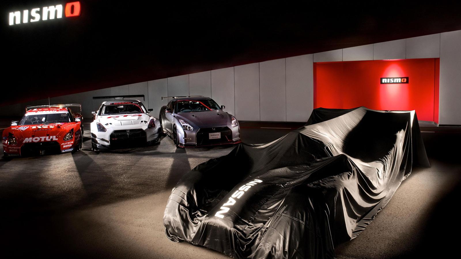 Teaser for 2015 Nissan GT-R LM NISMO LMP1