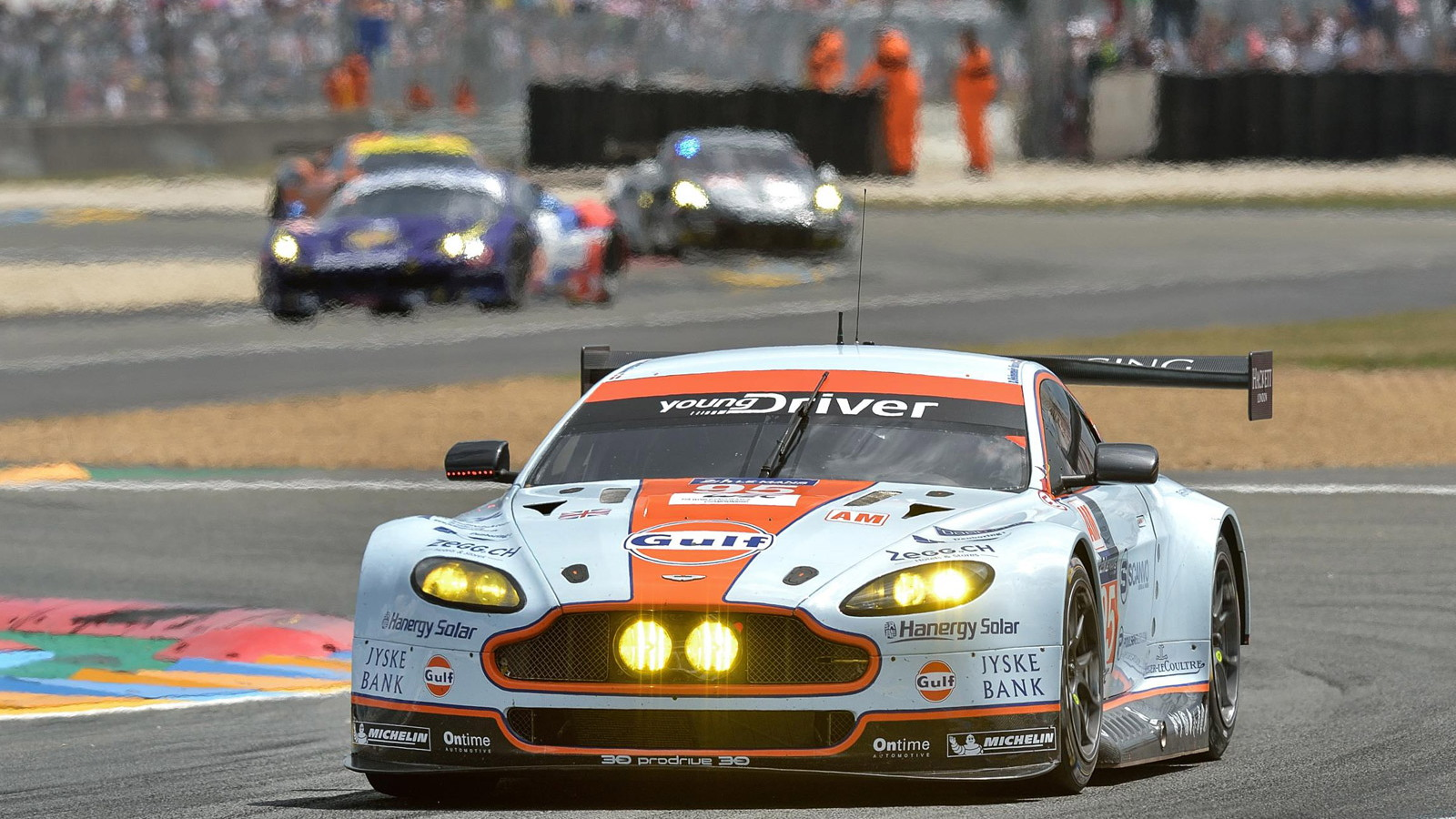 Aston Martin at the 2014 24 Hours of Le Mans