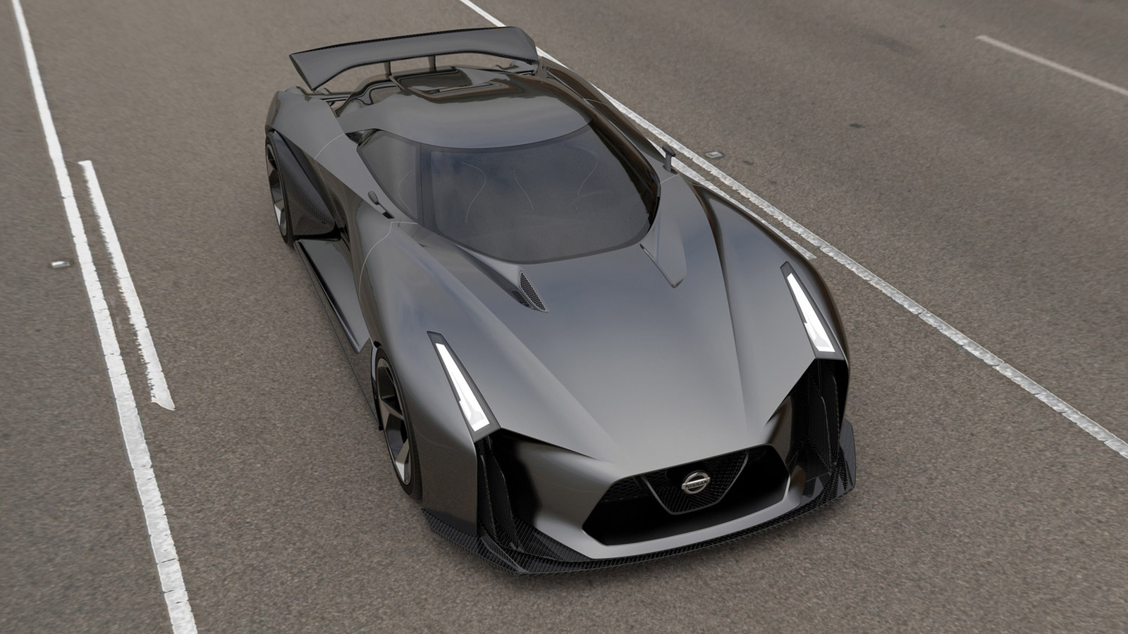 Nissan Concept 2020 Vision Gran Turismo Revealed Likely Hints At
