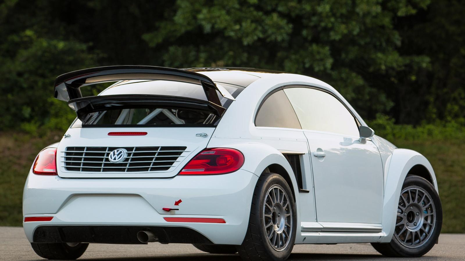 2014 Volkswagen Beetle Global Rallycross Championship car