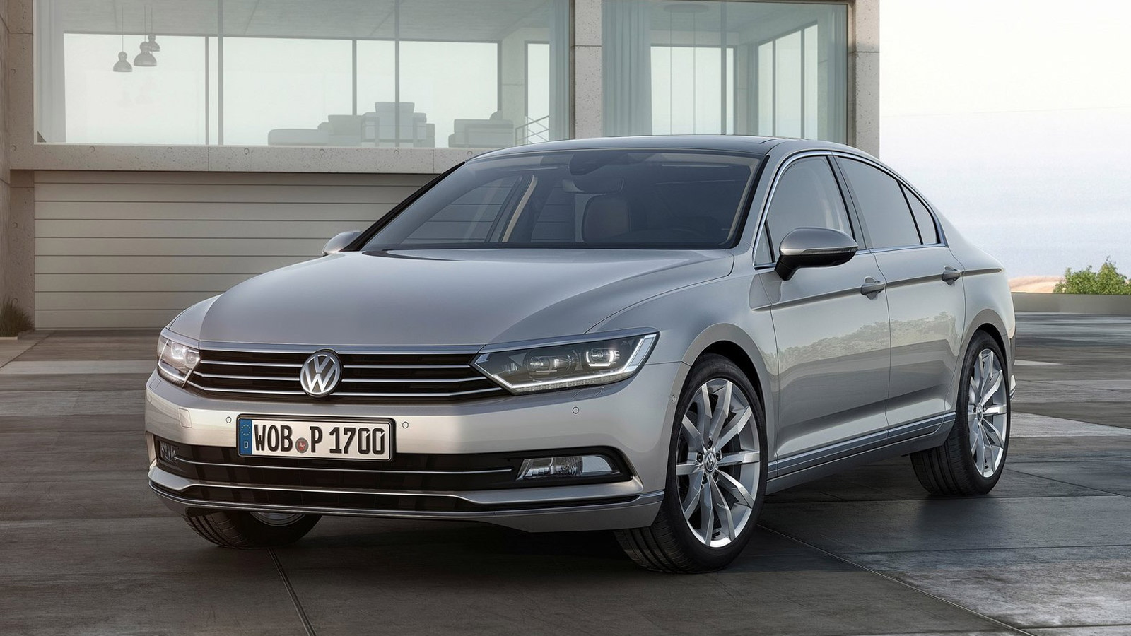 2015 Volkswagen Passat (European-spec)