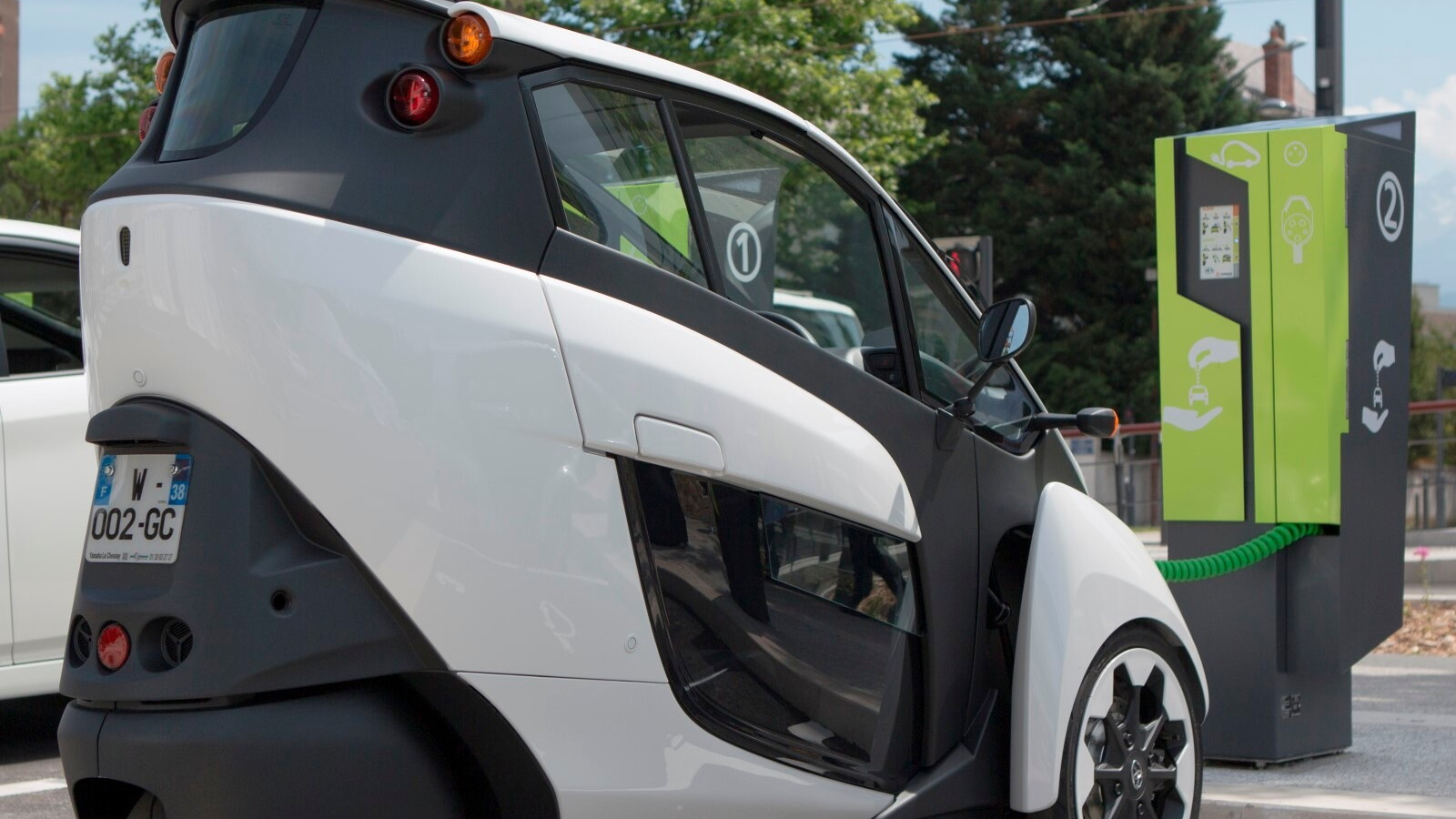 Toyota i-Road urban electric vehicle