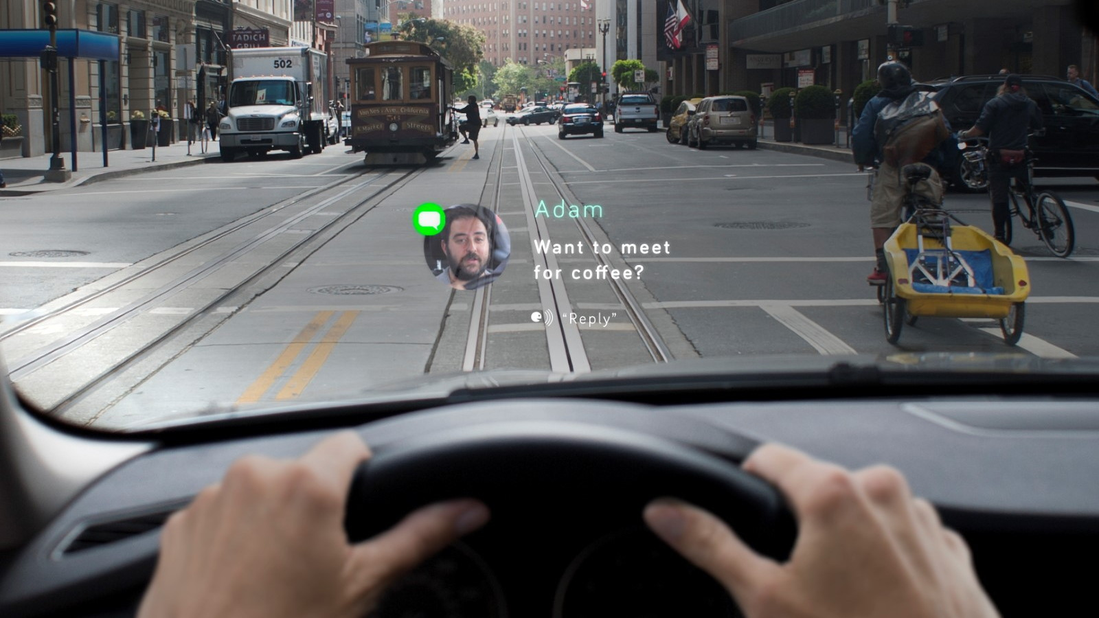 Navdy portable heads-up display