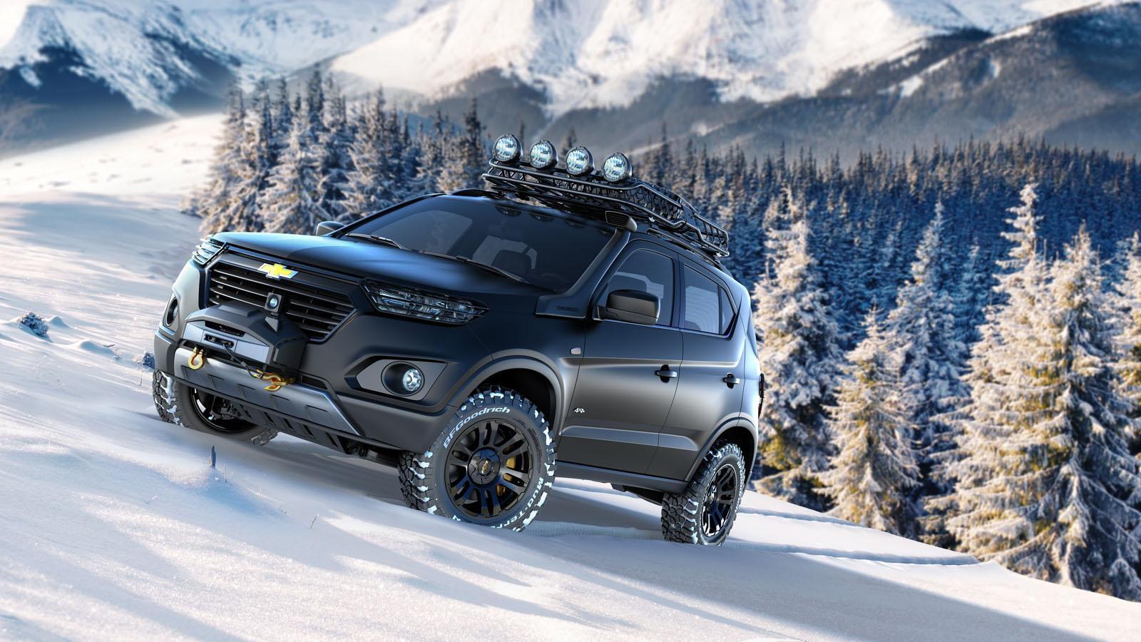 Chevrolet Niva concept, 2014 Moscow Auto Show
