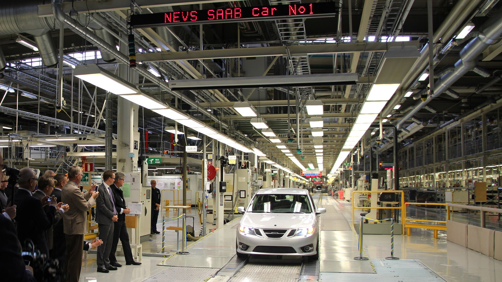 NEVS starts production of 2014 Saab 9-3