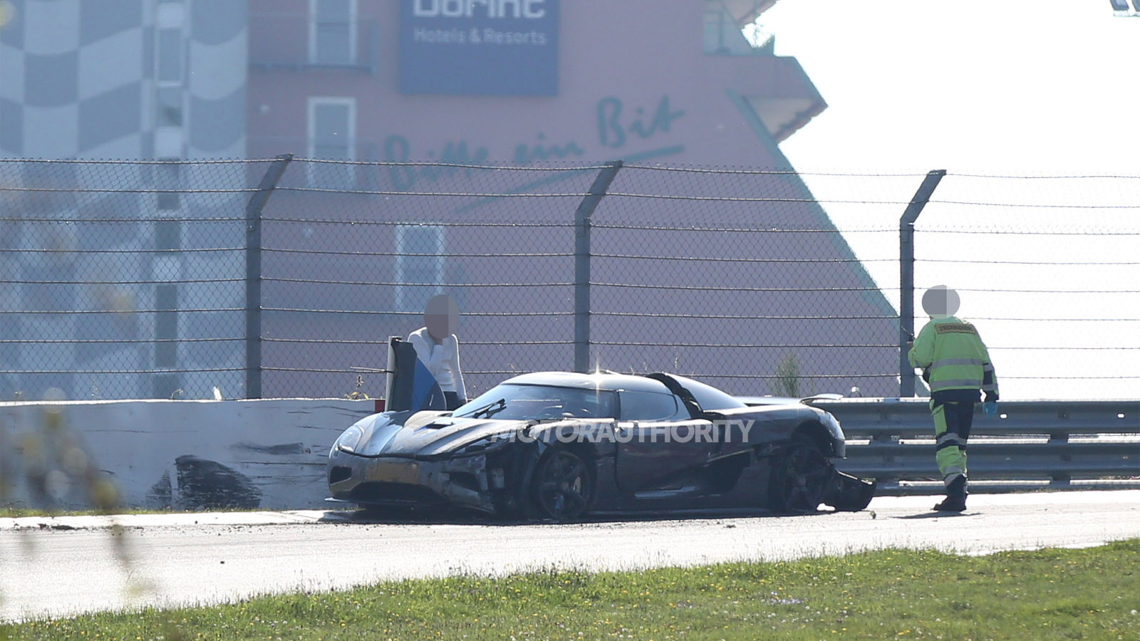 2016 Koenigsegg Agera R prototype crashed at the Nürburgring