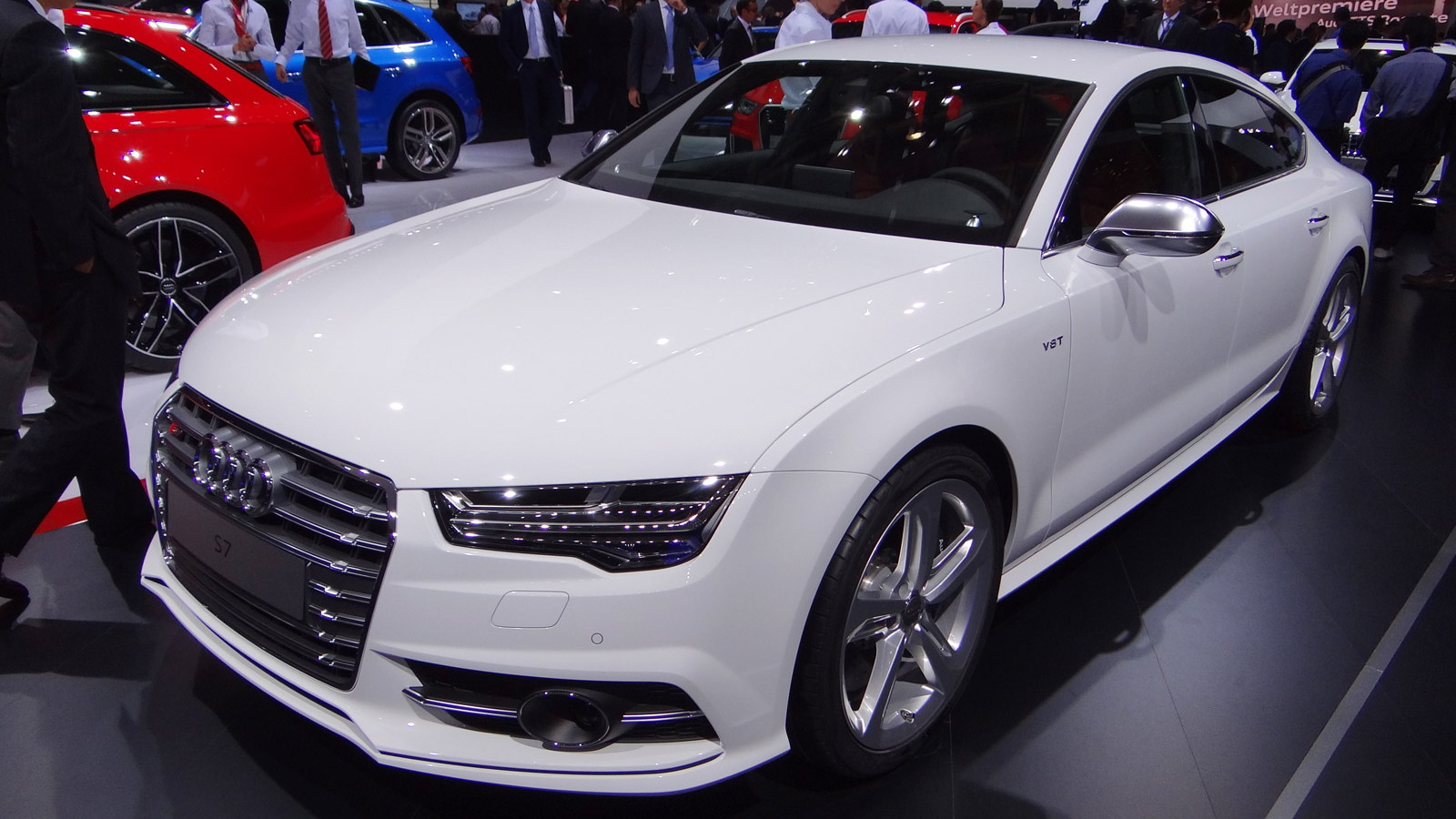 2016 Audi S7 (European spec), 2014 Paris Auto Show