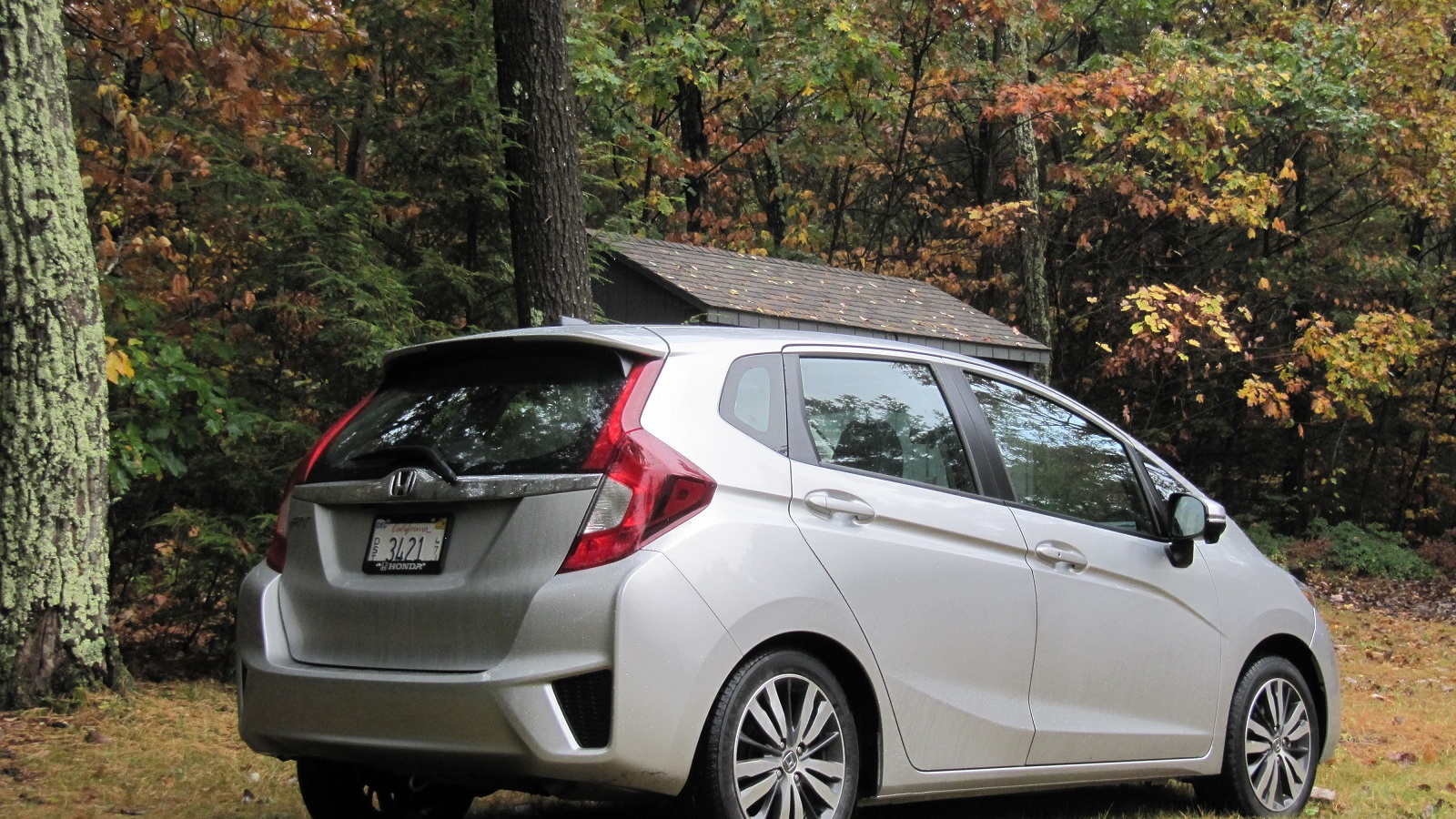 2015 Honda Fit EX-L Navi, Catskill Mountains, NY, Oct 2014