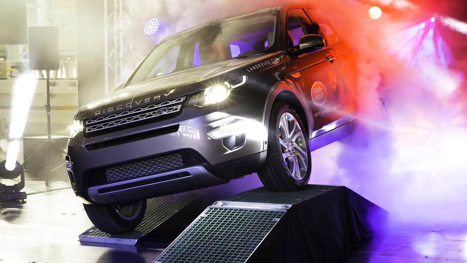 First 2016 Land Rover Discovery Sport rolls off the line at Halewood plant in the U.K.