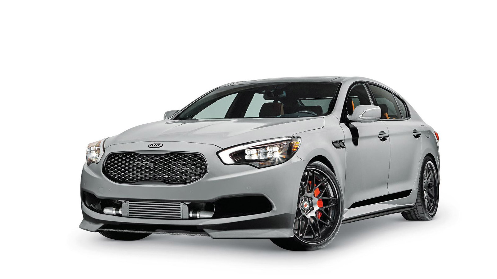 Kia builds high-performance K900 for 2014 SEMA show
