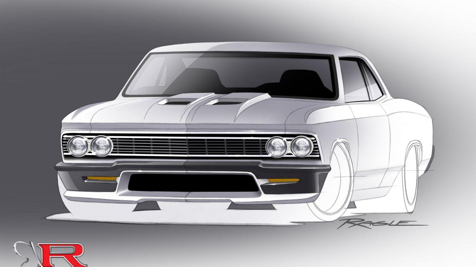 Teaser for 1966 Chevrolet Chevelle by Ring Brothers