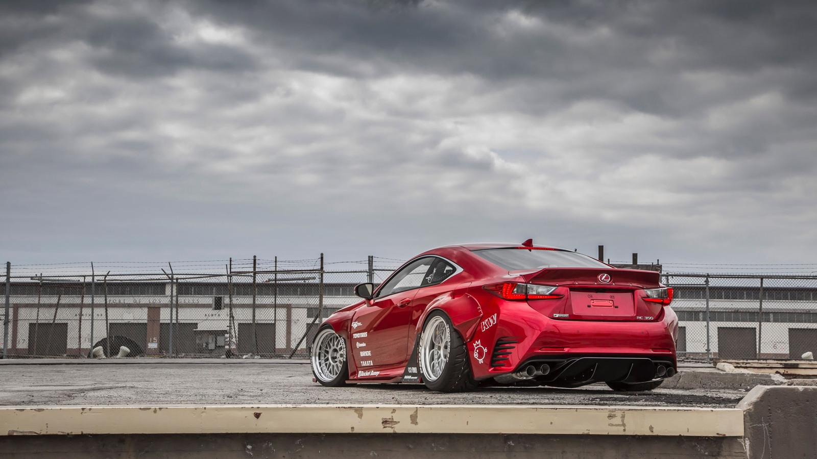 2015 Lexus RC 350 by Gordon Ting and Beyond Marketing, 2014 SEMA show