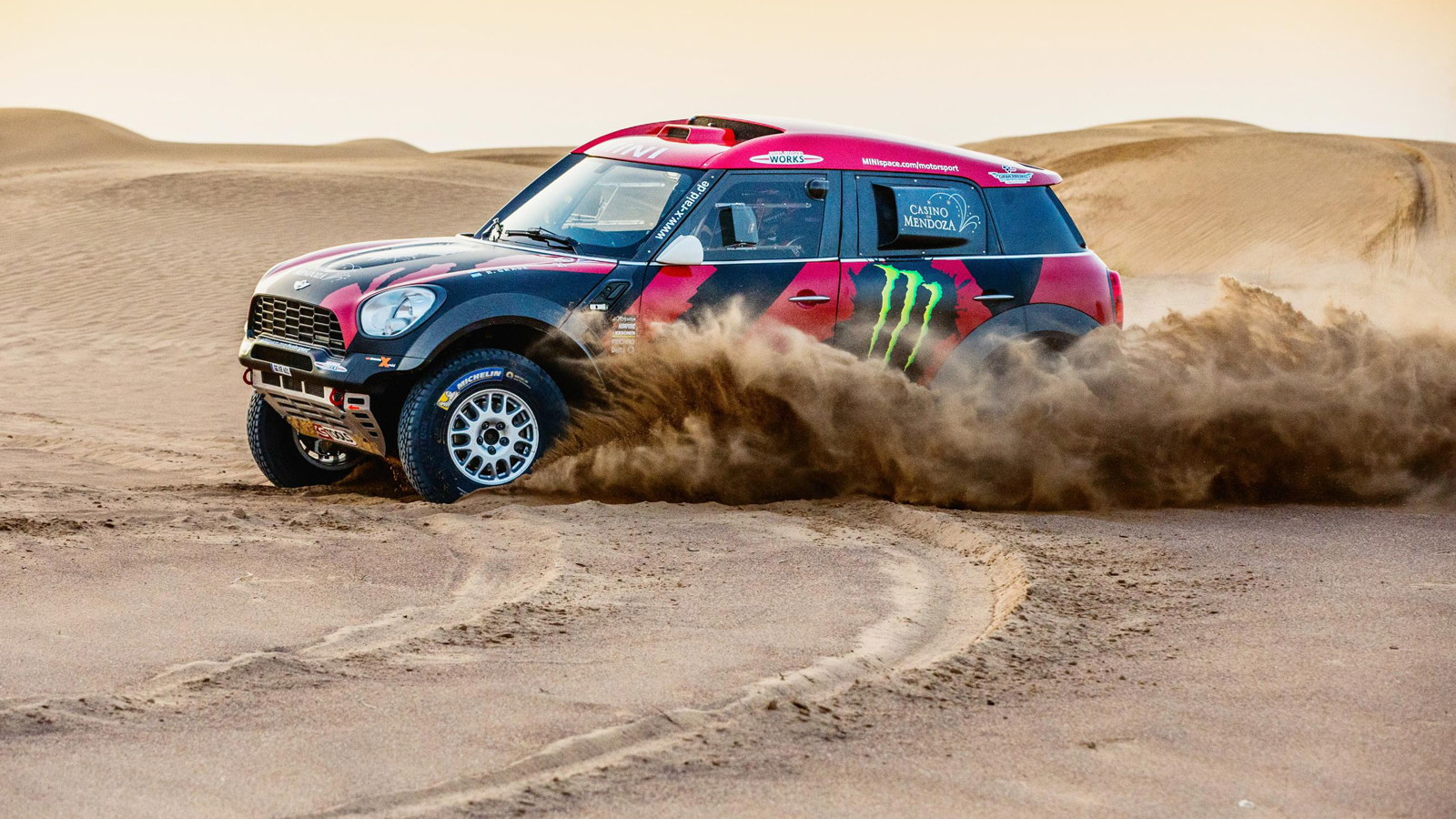 2015 X-Raid MINI All4 Racing