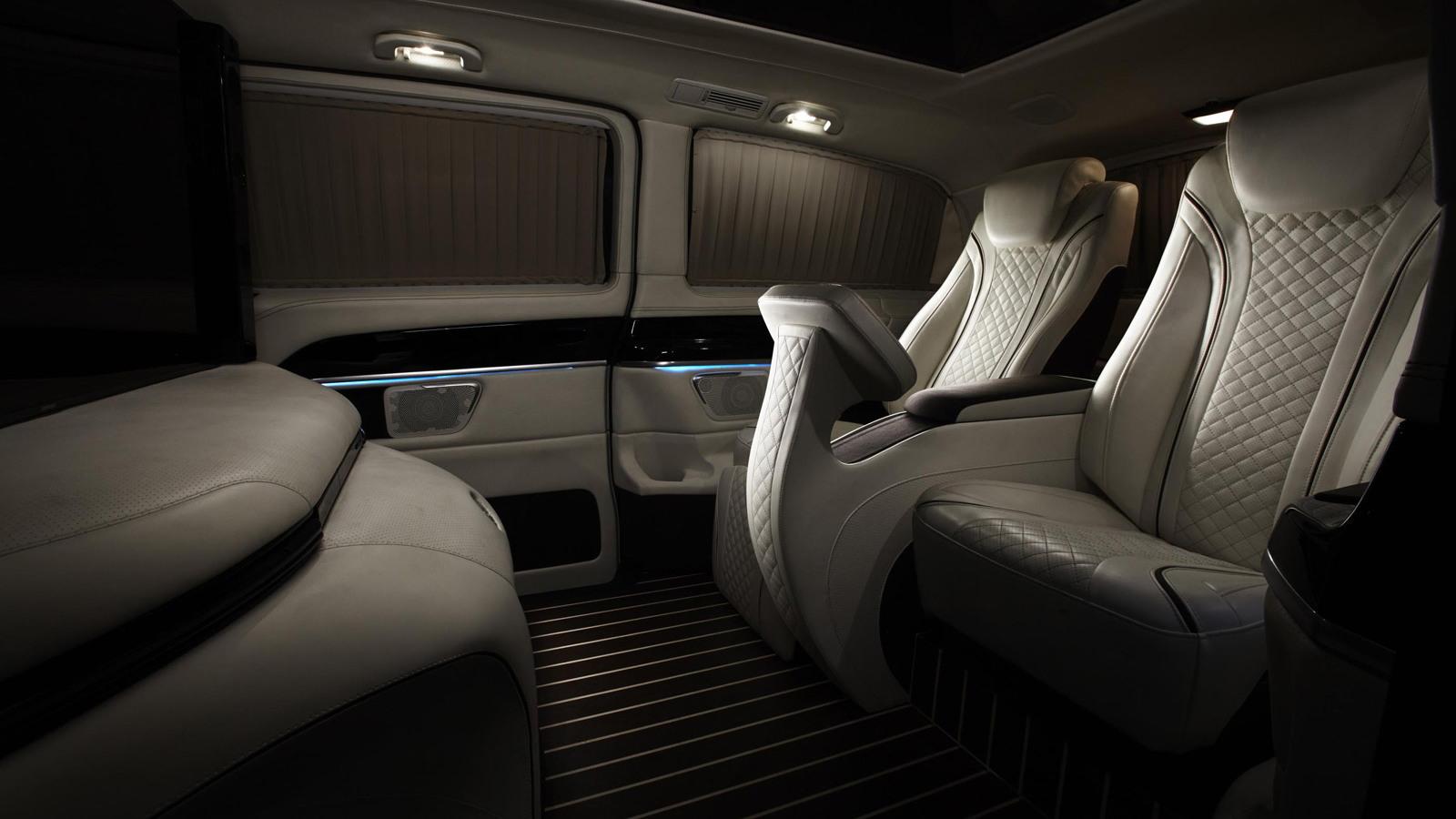 Mercedes-Benz Metris Luxury Van by HQ Custom Design, 2014 SEMA show