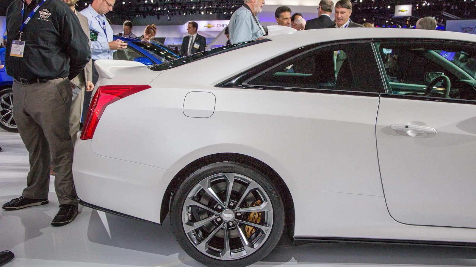 2016 Cadillac ATS-V Coupe, 2014 Los Angeles Auto Show
