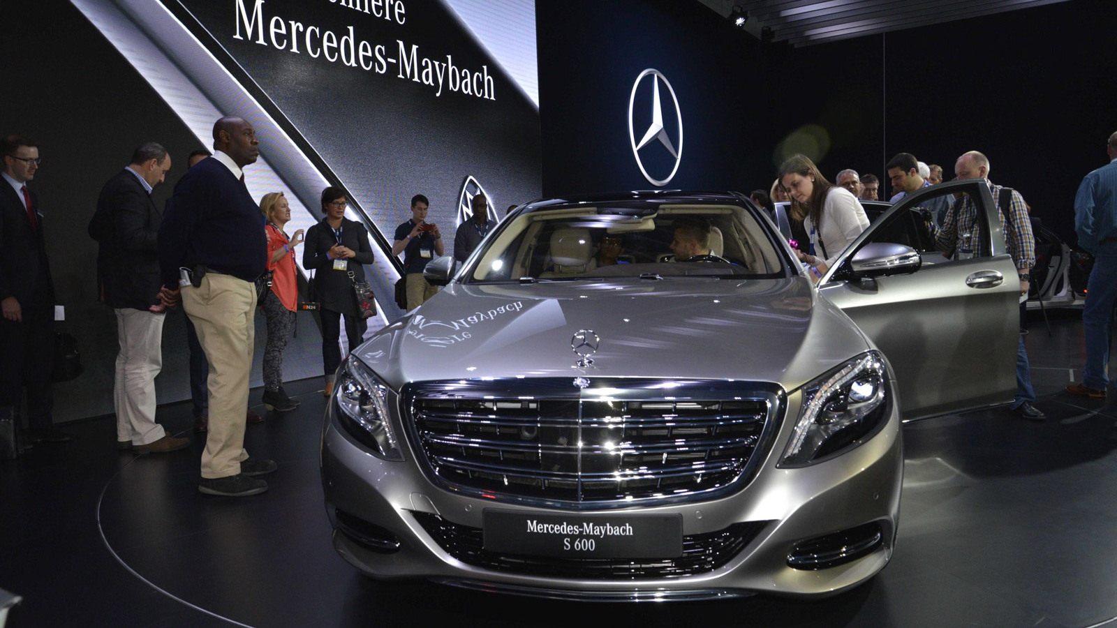 2016 Mercedes-Maybach S-Class, 2014 Los Angeles Auto Show