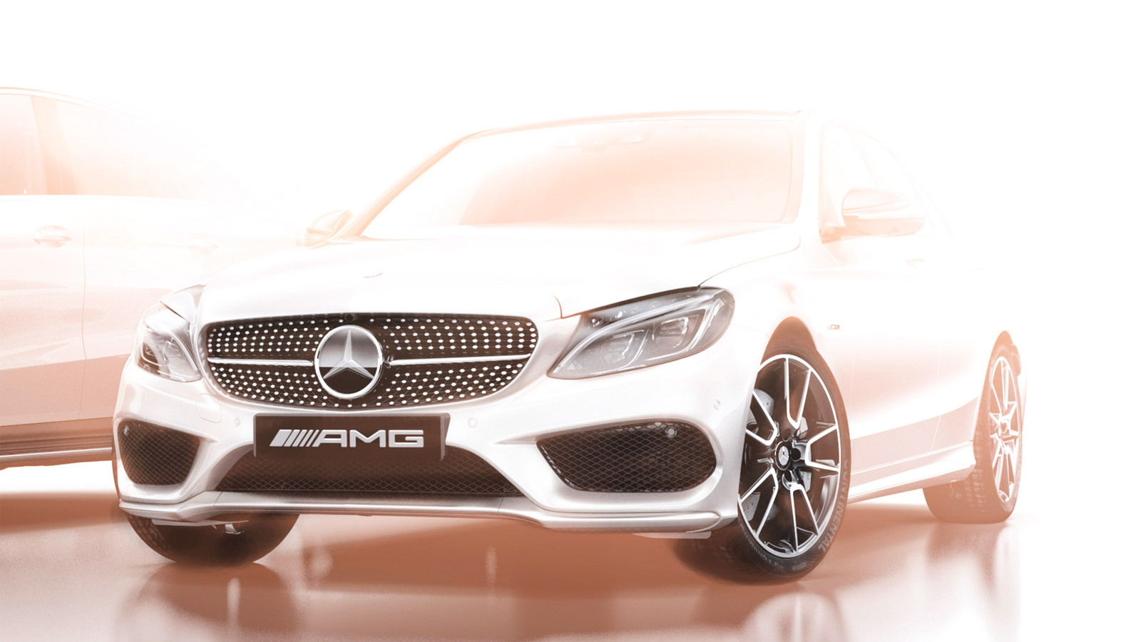 Teaser for Mercedes-Benz C-Class AMG Sport