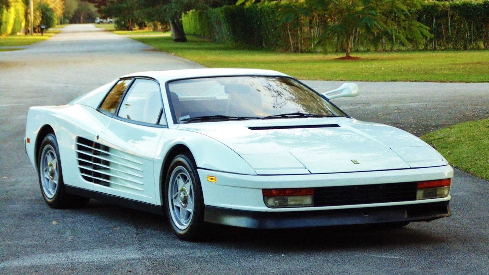 1986 Ferrari Testarossa from 'Miami Vice' - Image via eBay Motors