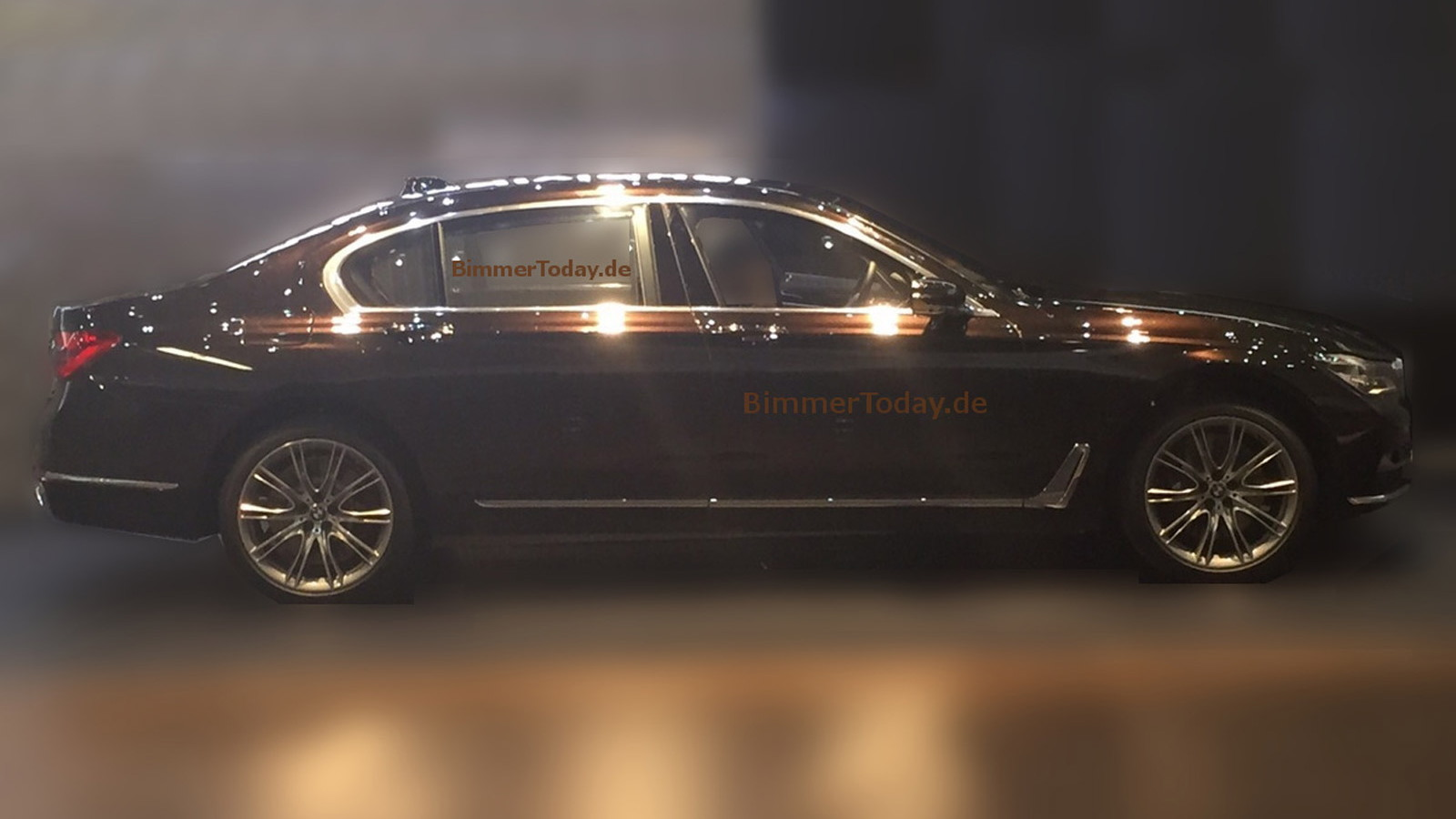 2016 BMW 7-Series leaked - Image via BimmerToday