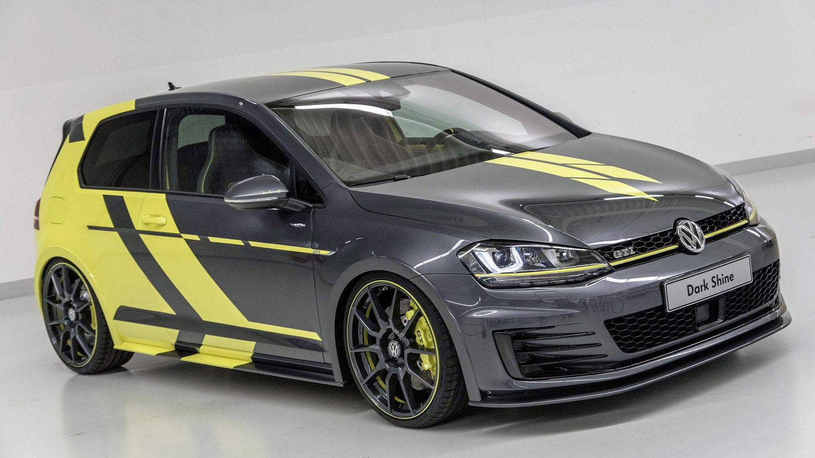 Volkswagen Gti Dark Shine And Golf Variant Biturbo Concepts Debut At Worthersee