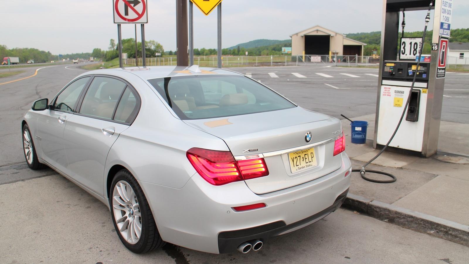 2015 BMW 740Ld xDrive, upstate New York, May 2015