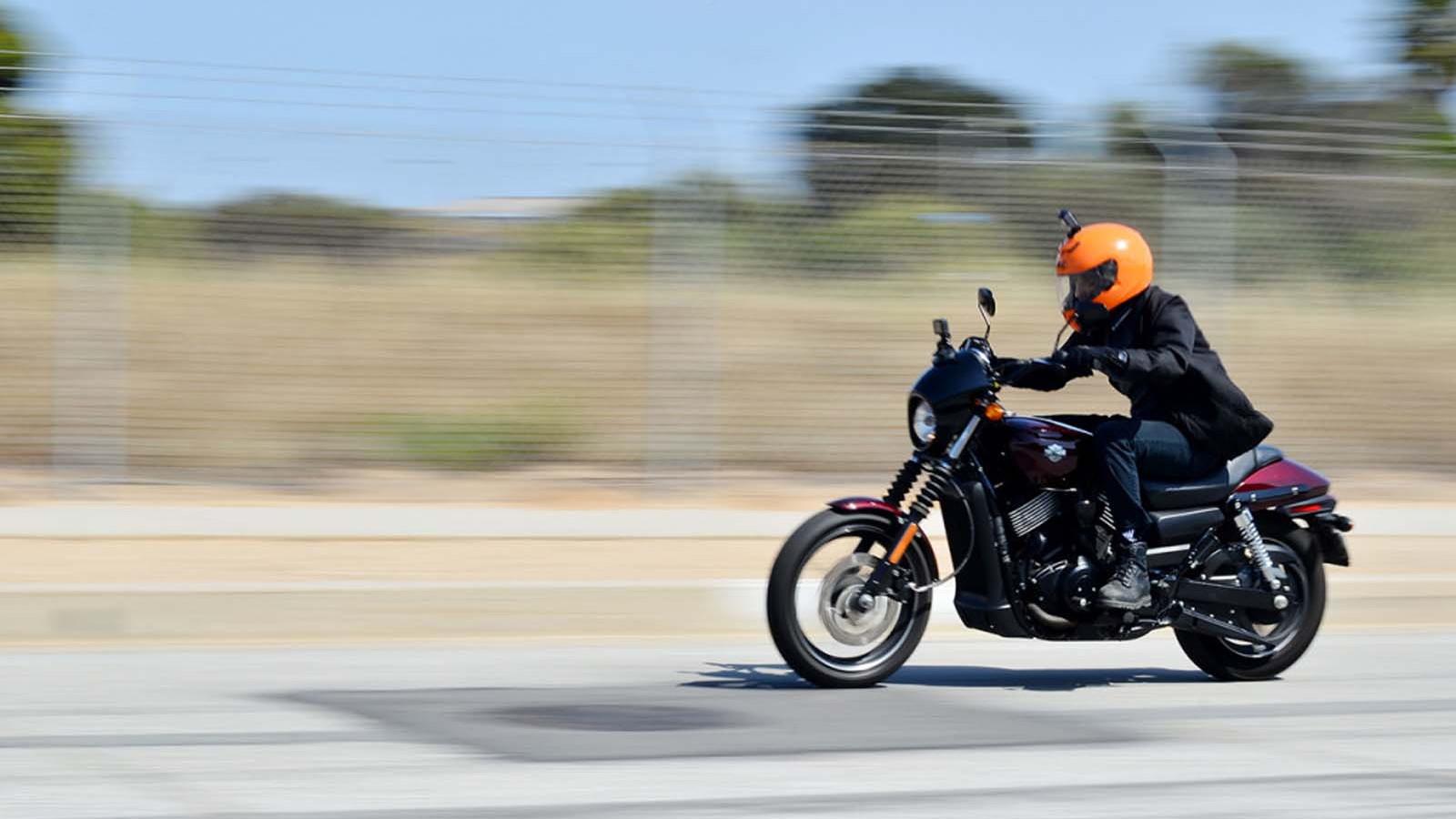 Harley-Davidson Street 750 by Joseph Yoon