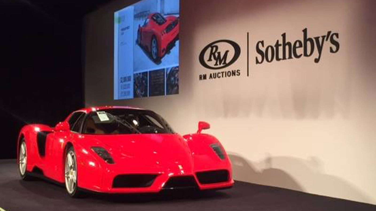 2005 Ferrari Enzo #400 donated to Pope John Paul II sells for $6,050,000