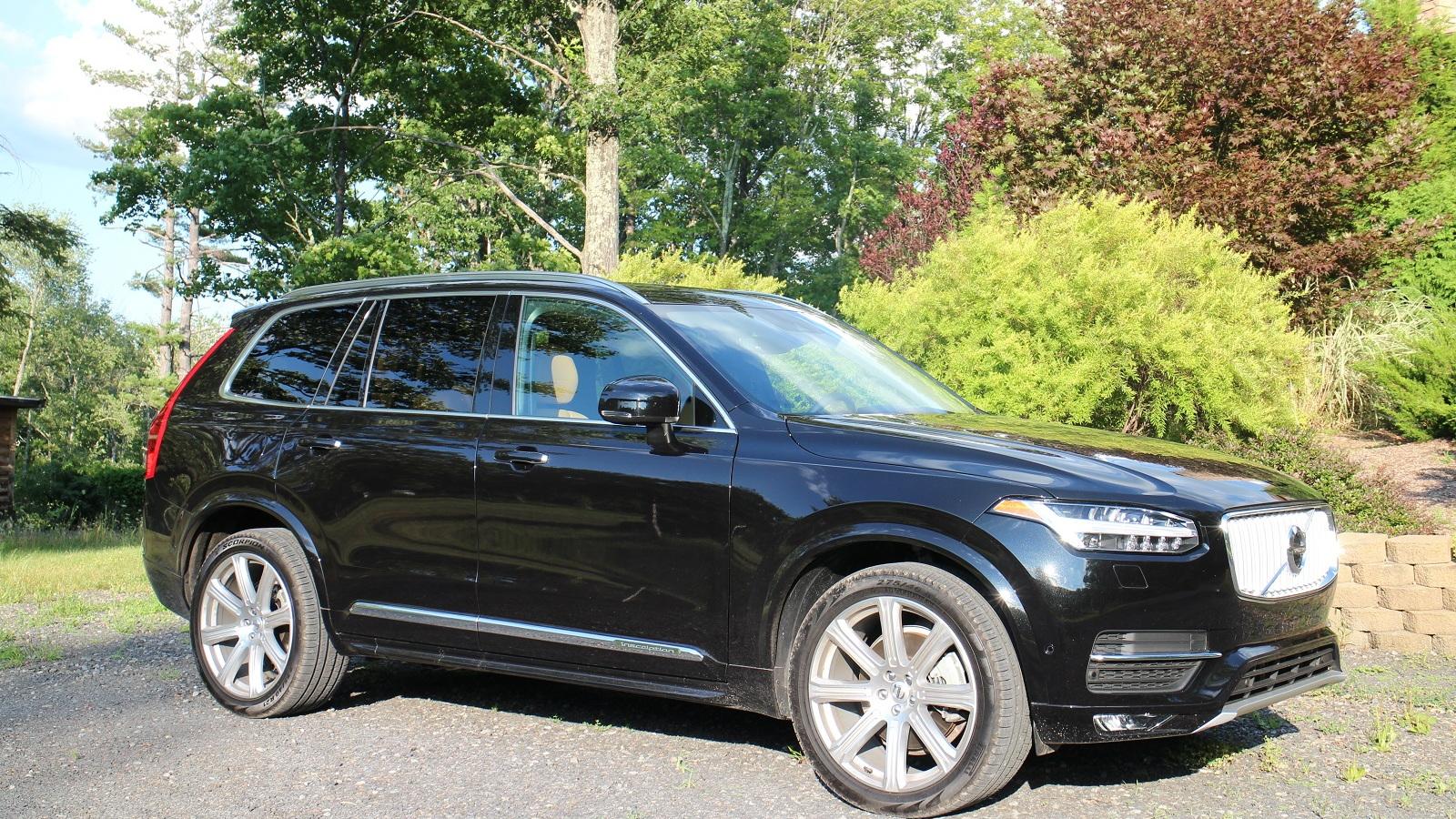 2016 Volvo XC90, Catskill Mountains, NY, Aug 2015