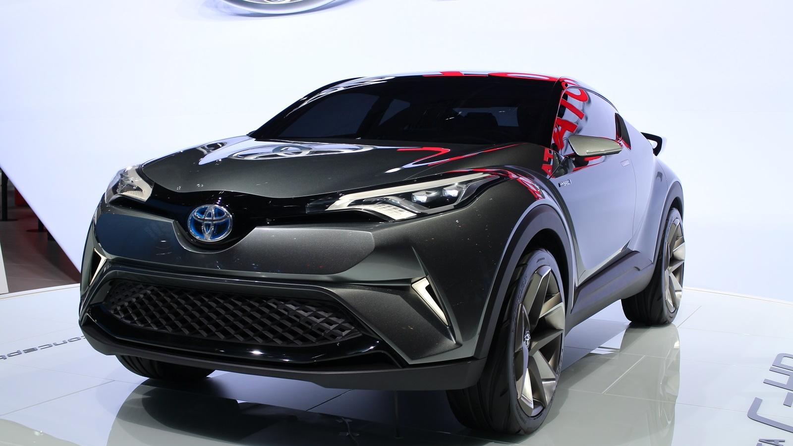 Toyota C-HR Concept (2nd version), 2015 Frankfurt Auto Show