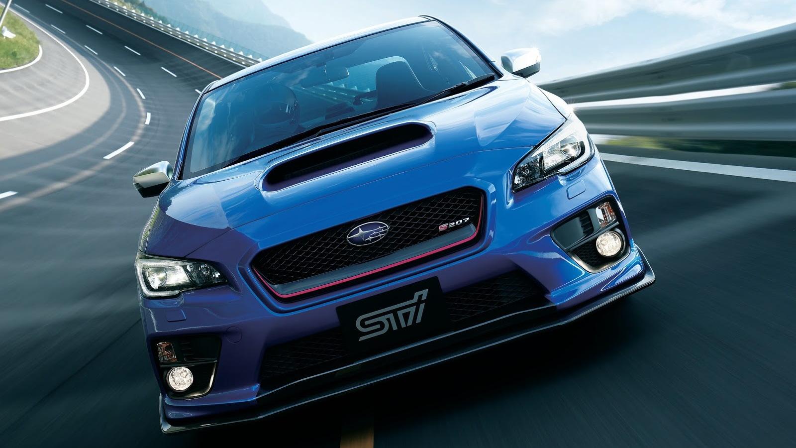 2015 Subaru WRX STI S207