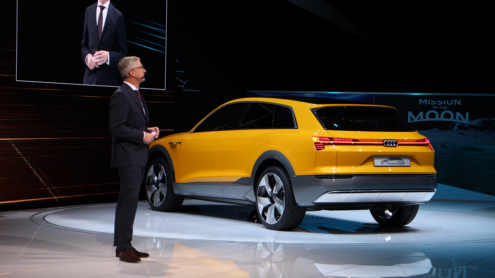 Audi h-tron quattro concept, 2016 Detroit Auto Show