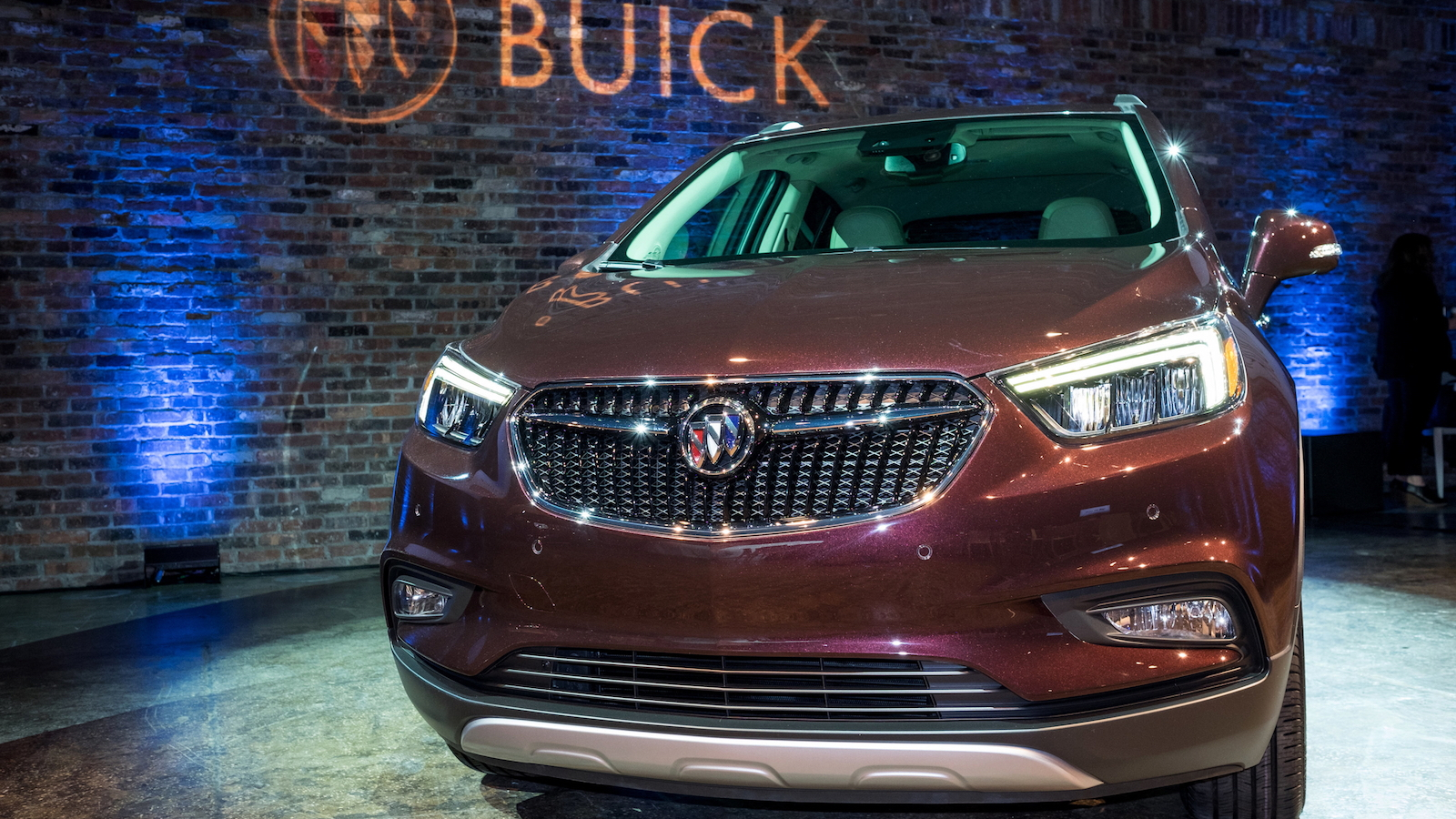 2017 Buick Encore, 2016 New York Auto Show