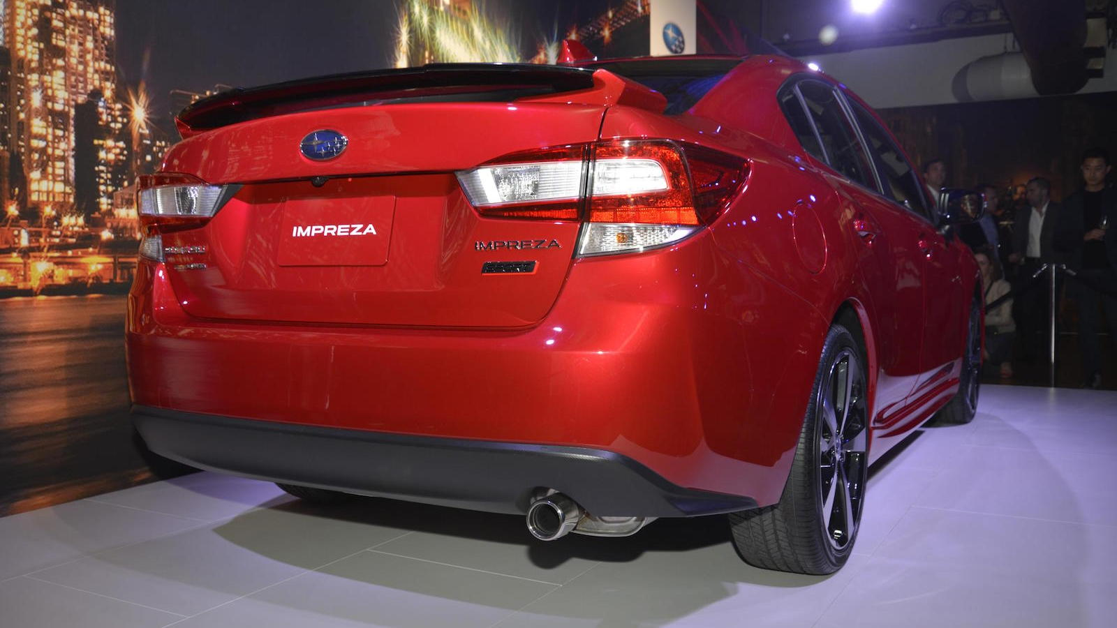 2017 Subaru Impreza, 2016 New York Auto Show