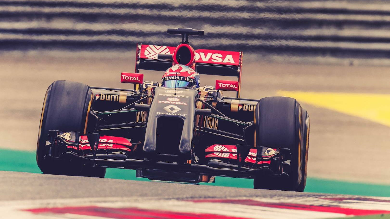 2014 Lotus E22 Formula One car (Lotus F1 Team Facebook)