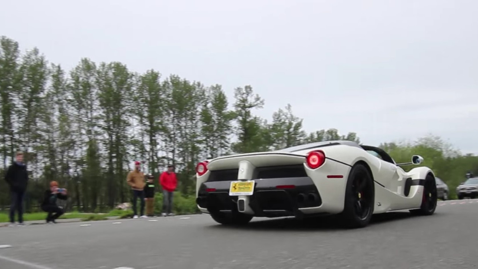 The first LaFerrari Aperta in the United States