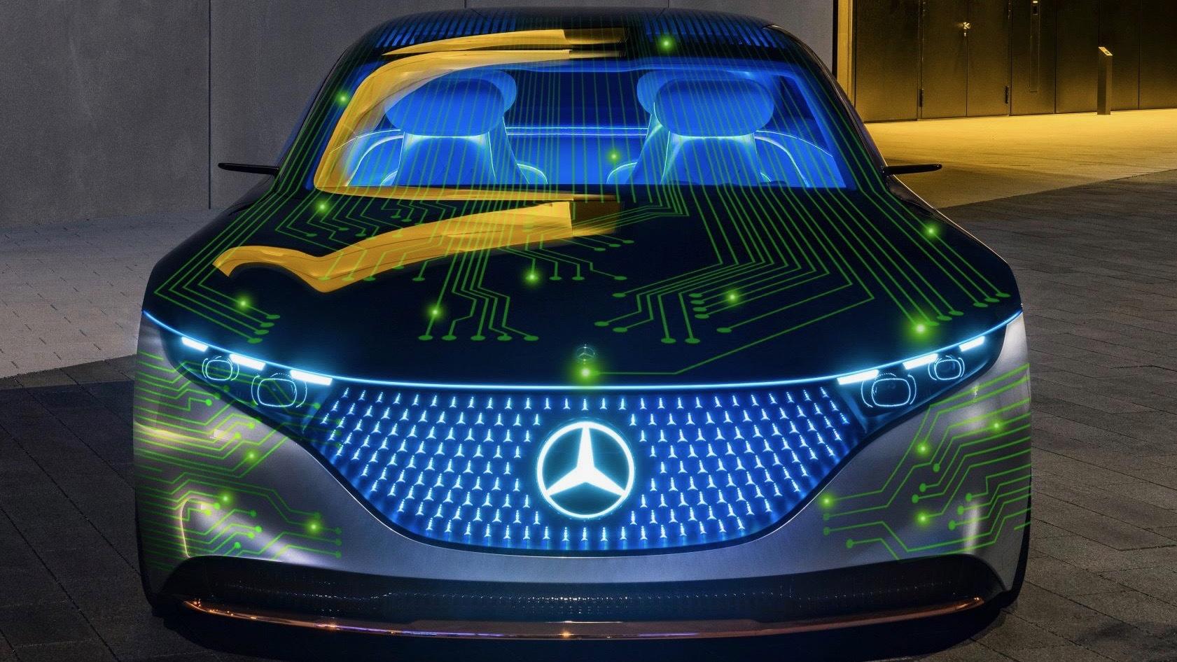 Mercedes-Benz and Nvidia technology partnership