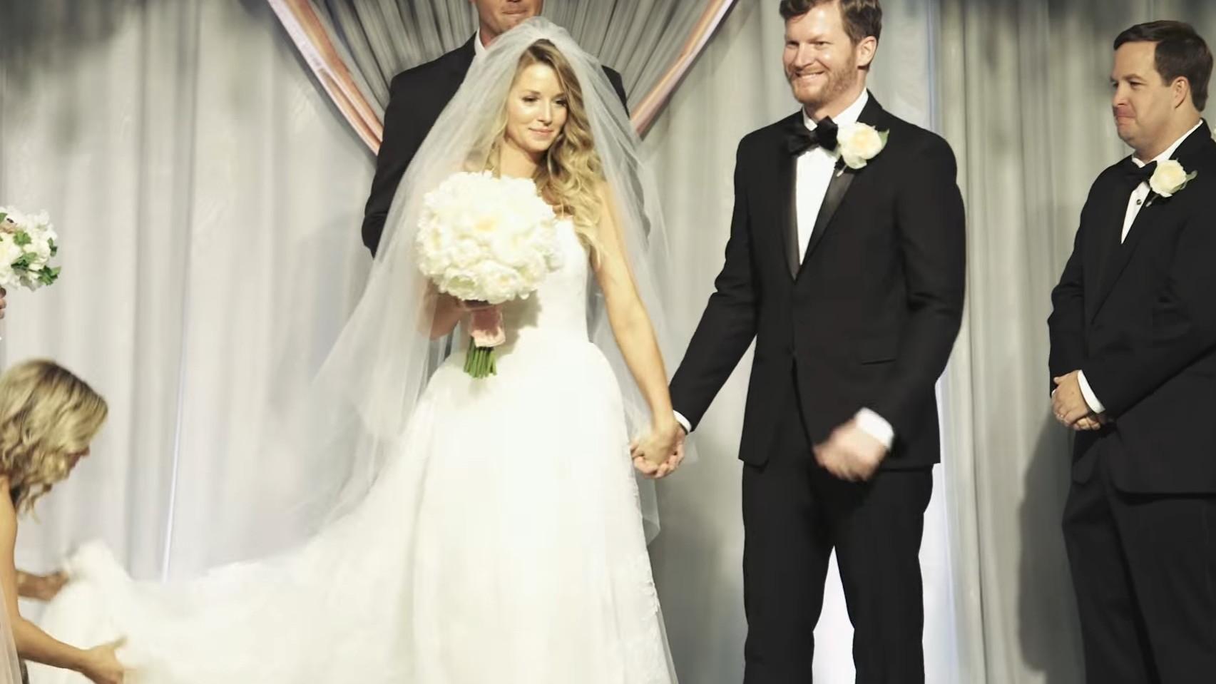 Dale Earnhardt, Jr. wedding