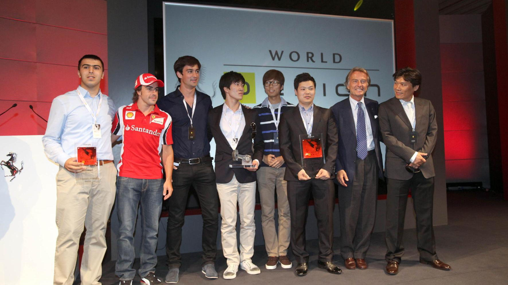 Ferrari World Design Contest - the winners