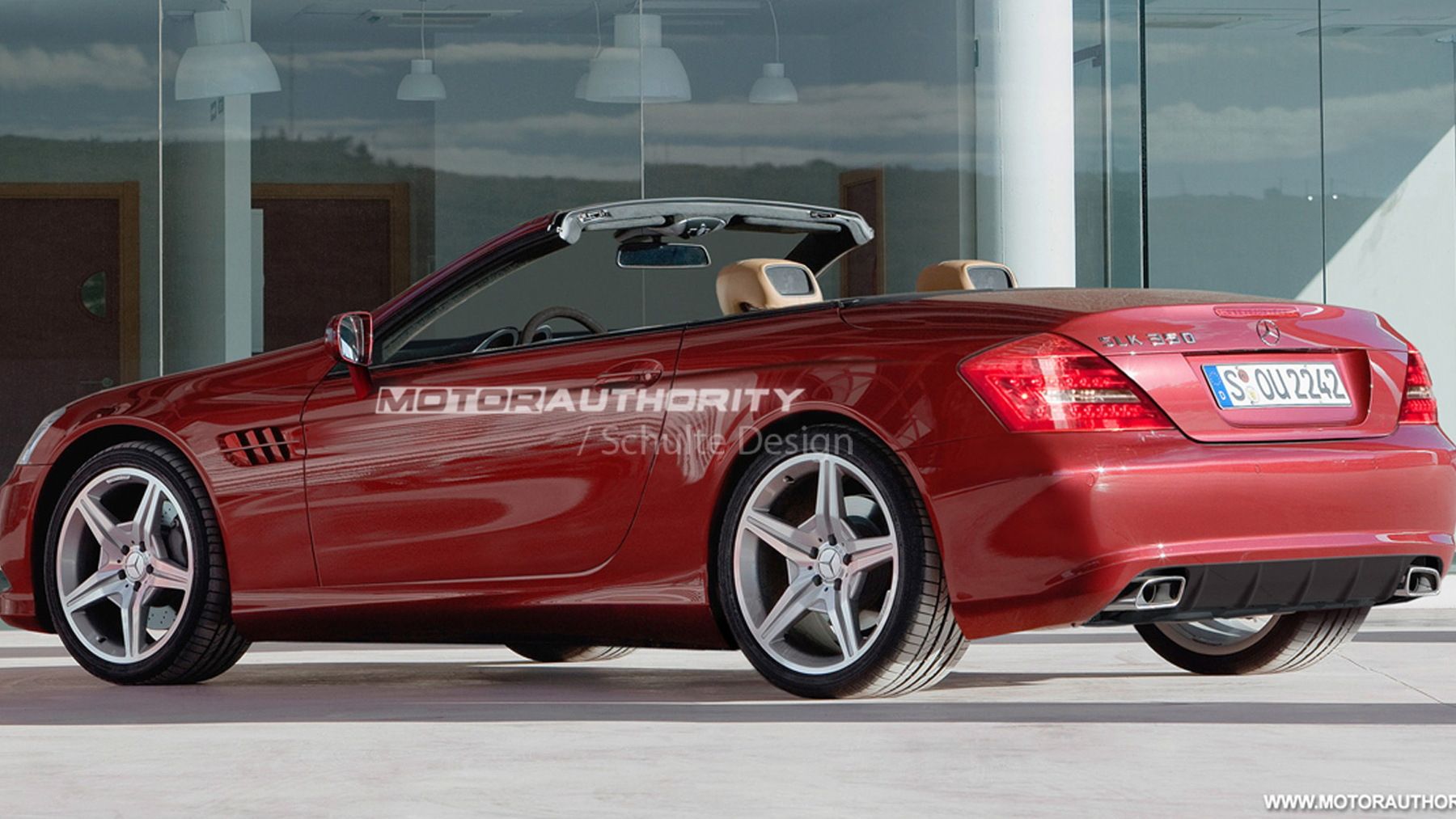 2011 mercedes benz slk rendering may 001