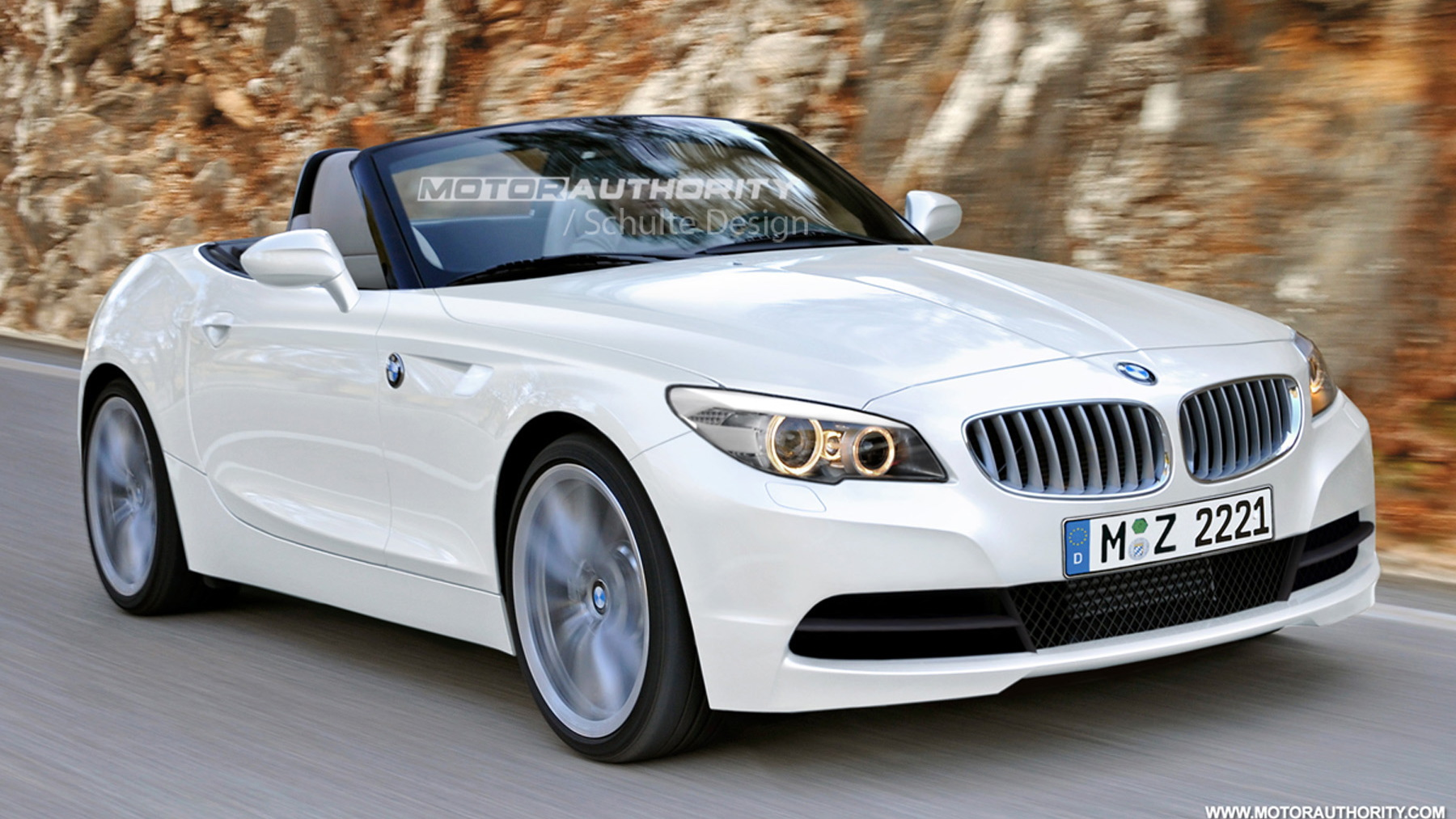 2012 bmw z2 roadster preview rendering 003